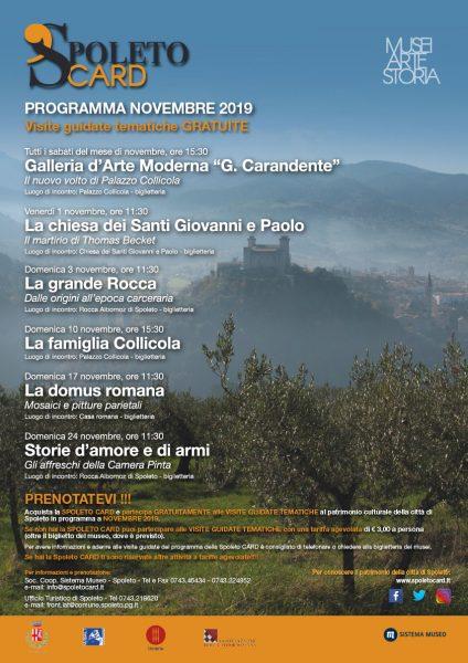 <!--:it-->Visite Guidate SPOLETO CARD<!--:--><!--:en-->SPOLETO CARD Guided Visits<!--:--> @ Siti museali di Spoleto