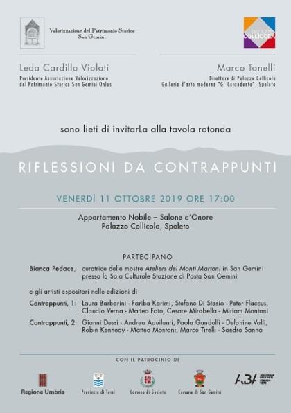 <!--:it-->Riflessioni da contrappunti - Tavola rotonda<!--:--> @ Palazzo Collicola – Appartamento nobile
