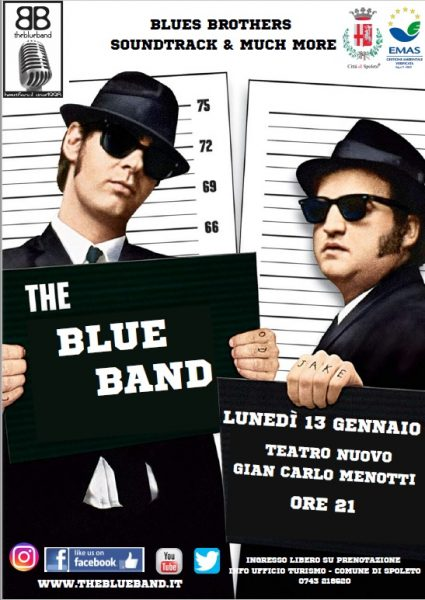 <!--:it-->The Blue Band Live<!--:--><!--:en-->The Blue Band Live<!--:--> @ Teatro Nuovo Gian Carlo Menotti