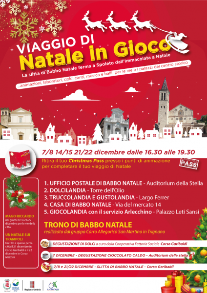<!--:it-->NATALE IN GIOCO | Animazioni, laboratori, dolci, canti, musica per le vie e i palazzi del centro storico<!--:--><!--:en-->Christmas Comes Into Play | Animation, labs, cakes, chants, music on the streests in the downtown<!--:--> @ Spoleto