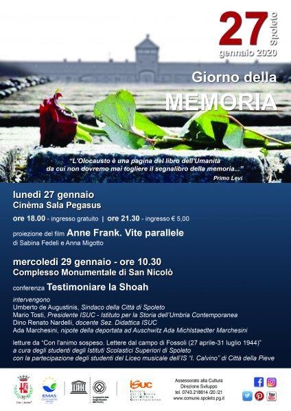 <!--:it-->GIORNO DELLA MEMORIA<!--:--> @ Cinema Sala Pegasus