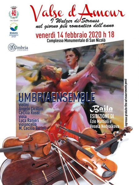 <!--:it-->VALSE D'AMOUR - I Walzer di Strauss nel giorno di San Valentino<!--:--><!--:en-->VALSE D'AMOUR - Strauss' waltzes on Valentine's Day<!--:--> @ Complesso Monumentale di San Nicolò