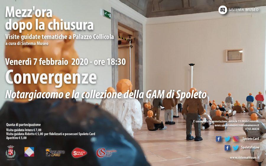 <!--:it-->Mezz'ora dopo la chiusura | CONVERGENZE. Notargiacomo e la collezione della GAM di Spoleto<!--:--> @ Palazzo Collicola