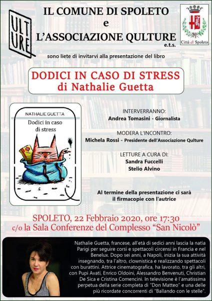 <!--:it-->Nathalie Guetta presenta a Spoleto il suo romanzo d'esordio<!--:--> @ Complesso Monumentale San Nicolò