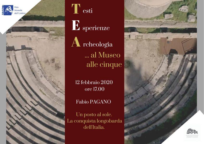 <!--:it-->Testi Esperienze Archeologia... - #TEA al Museo delle cinque | Un posto al sole. La conquista longobarda dell'Italia<!--:--> @ Museo archeologico nazionale e Teatro romano