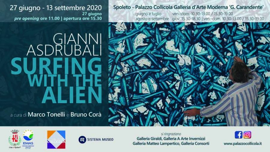 <!--:it-->MOSTRA | Surfing with the Alien di Gianni Asdrubali<!--:--><!--:en-->EXHIBITION | Gianni Asdrubali: Surfing With The Alien<!--:--> @ Palazzo Collicola