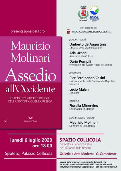 <!--:it-->Presentazione del libro ASSEDIO ALL'OCCIDENTE di Maurizio Molinari<!--:--> @ Palazzo Collicola