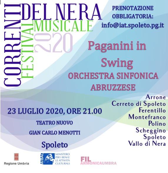 <!--:it-->PAGANINI IN SWING - Orchestra dell'Istituzione Sinfonica Abruzzese<!--:--> @ Teatro Nuovo Gian Carlo Menotti