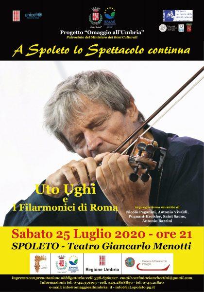 """<!--:it-->Concerto di Uto Ughi e i Filarmonici di Roma<!--:--><!--:en-->Concert by Uto Ughi and the Filarmonici di Roma<!--:--> @ Teatro Nuovo """"Gian Carlo Menotti"""""""