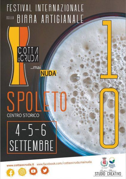 <!--:it-->COTTA O CRUDA... MAI NUDA | Festival internazionale della birra artigianale<!--:--> @ Spoleto centro storico