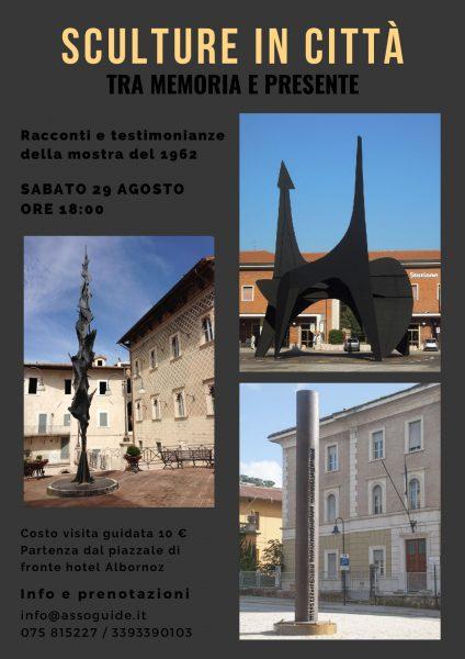 <!--:it-->Visita guidata | Sculture in città, tra memoria e presente. Racconti e testimonianze della mostra del 1962<!--:--> @ Spoleto