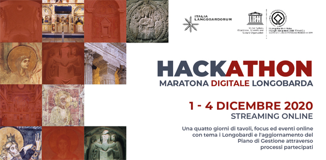 <!--:it-->Hackathon | Maratona digitale longobarda<!--:--> @ in streaming