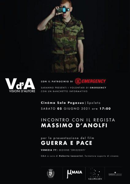 <!--:it-->#Visionid'Autore | Massimo D'Anolfi presenta il film GUERRA E PACE<!--:--> @ Cinéma Sala Pegasus