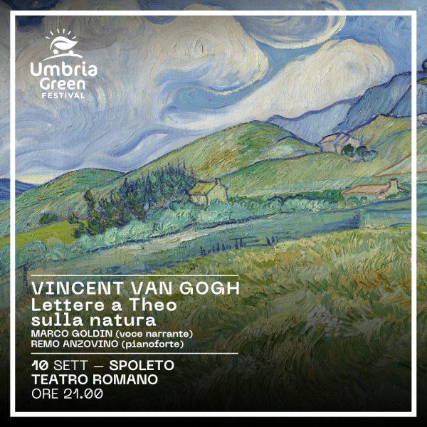 <!--:it-->UMBRIA GREEN FESTIVAL - Vincent Van Gogh. Lettere a Theo sulla natura<!--:--><!--:en-->UMBRIA GREEN FESTIVAL - Vincent Van Gogh. Letters to Theo on nature<!--:--> @ Teatro Romano di Spoleto