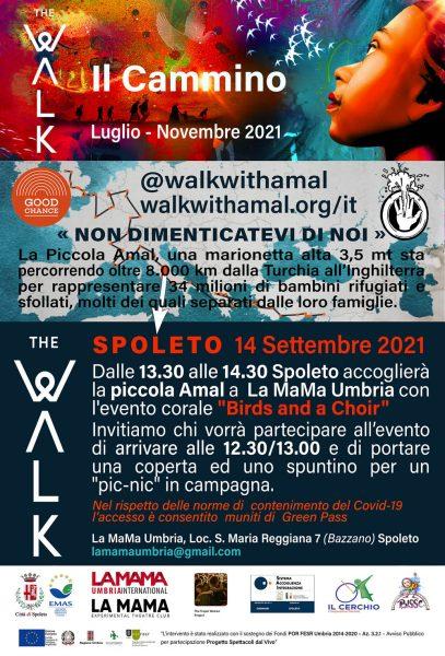<!--:it-->THE WALK - Il Cammino della Piccola Amal <!--:--> @ La Mama International - Loc. Santa Maria Reggiana