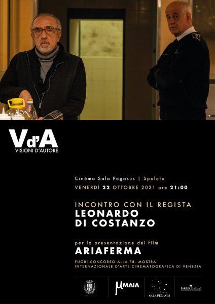<!--:it-->VISIONI D'AUTORE | Proiezione del film ARIAFERMA e incontro con il regista LEONARDO DI COSTANZO<!--:--><!--:en-->VISIONI D'AUTORE | Screening of ARIAFERMA and meeting with director LEONARDO DI COSTANZO<!--:--> @ Cinéma Sala Pegasus