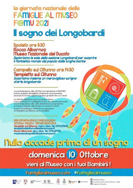 <!--:it-->Giornata Nazionale delle Famiglie al Museo - F@MU 2021<!--:--> @ Rocca Albornoz e Tempietto sul Clitunno