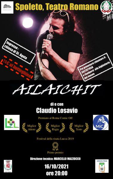 <!--:it-->AILAICHIT di e con Claudio Losavio<!--:--><!--:en-->AILAICHIT by and with Claudio Losavio<!--:--> @ Teatro Romano di Spoleto